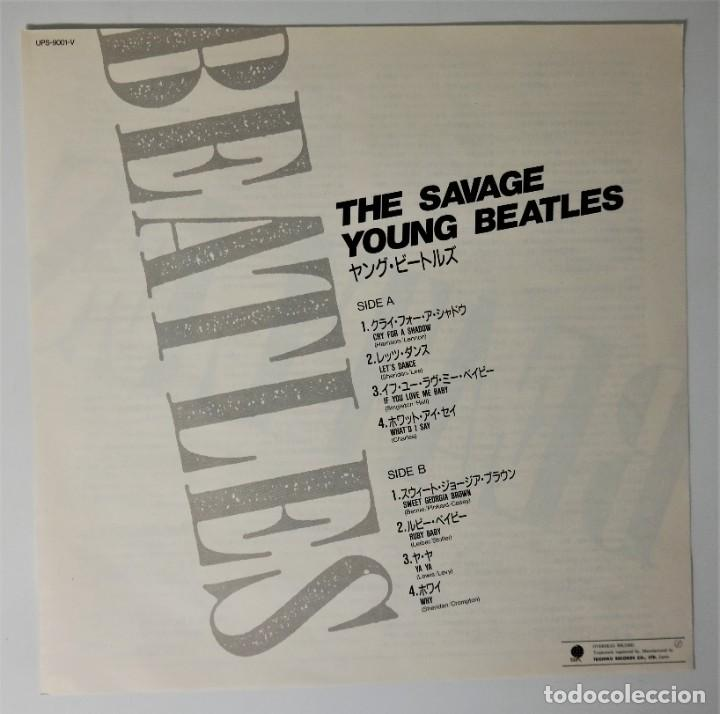 Discos de vinilo: The Beatles–The Savage Young Beatles/ Collectors Treasure From The Beatles With Special Hologram - Foto 6 - 237472675