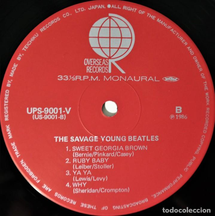 Discos de vinilo: The Beatles–The Savage Young Beatles/ Collectors Treasure From The Beatles With Special Hologram - Foto 10 - 237472675