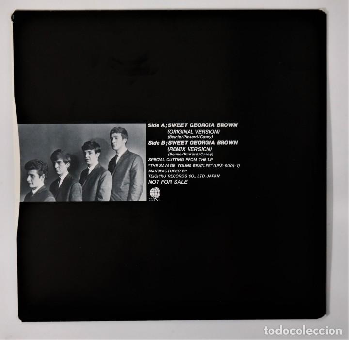 Discos de vinilo: The Beatles–The Savage Young Beatles/ Collectors Treasure From The Beatles With Special Hologram - Foto 15 - 237472675