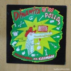Disques de vinyle: DINAMITA PA LOS POLLOS - PASEANDO AL CAIMAN - SINGLE. Lote 237474525