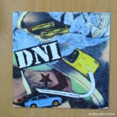 Disques de vinyle: DNI - COCHES ZAPATILLAS Y MUJERES - SINGLE. Lote 237475145