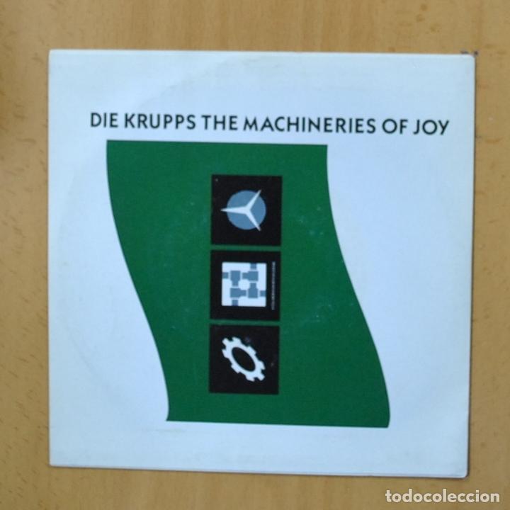 DIE KRUPPS - THE MACHINERIES OF JOY - PROMO - SINGLE (Música - Discos - Singles Vinilo - Electrónica, Avantgarde y Experimental)
