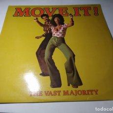 Disques de vinyle: LP - THE VAST MAJORITY – MOVE IT! - HDMS 781-01 ( VG+ / VG+) SPAIN 1976. Lote 237476775