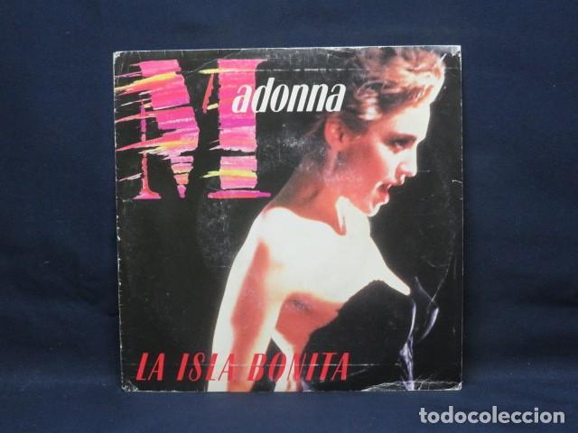MADONNA - LA ISLA BONITA - SINGLE PROMOCIONAL (Música - Discos de Vinilo - Singles - Pop - Rock Internacional de los 80)