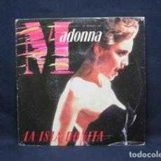 Discos de vinilo: MADONNA - LA ISLA BONITA - SINGLE PROMOCIONAL. Lote 237482480