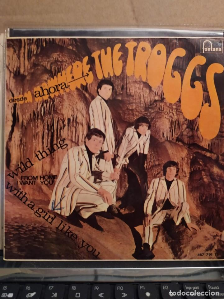 Discos de vinilo: THE TROGGS, DESDE AHORA, WILD THINGS, FROM HOME I WANT YOU , EP 1966 - Foto 1 - 237483850