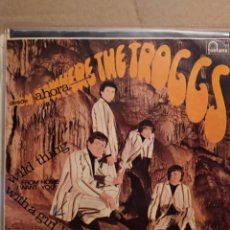 Discos de vinilo: THE TROGGS, DESDE AHORA, WILD THINGS, FROM HOME I WANT YOU , EP 1966. Lote 237483850