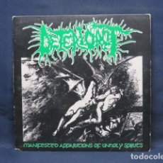 Discos de vinilo: DETERIOROT ‎- MANIFESTED APPARITIONS OF UNHOLY SPIRITS - SINGLE. Lote 237485905