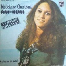 Dischi in vinile: MADELEINE CHARTRAND. SINGLE. SELLO PHILIPS. EDITADO EN ESPAÑA. AÑO 1973. Lote 237488005