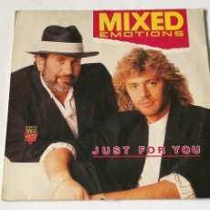 Discos de vinilo: MIXED EMOTIONS - JUST FOR YOU - 1988. Lote 237500925