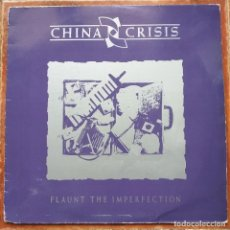 Discos de vinilo: CHINA CRISIS - FLAUNT THE IMPERFECTION (LP) 1985. Lote 237503455