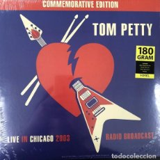 Discos de vinilo: TOM PETTY - LIVE IN CHICAGO: RADIO BROADCAST - LP PRECINTADO. Lote 237504825