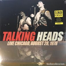 Discos de vinilo: TALKING HEADS - BEST OF LIVE CHICAGO, AUGUST 28, 1978 - LP PRECINTADO. Lote 237505005