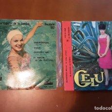 Disques de vinyle: GELU LOTE. Lote 237534680