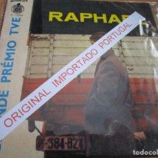 Discos de vinilo: RAPHAEL / PORTUGAL ) EUROVISION 66' YO SOY AQUEL / HASTA VENECIA / LA NOCHE / ES VERDAD /. Lote 237536245