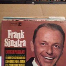 Discos de vinilo: FRANK SINATRA EXITOS DE PELICULAS, RIO DE LUNA, EL CONTINENTAL + 2 ED ESPAÑA 1964. Lote 237537410