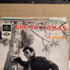 Discos de vinilo: BRUNO LOMAS Y LOS ROCKEROS:COMPRENSION, ES POSIBLE, MEMPHIS TENNESSEE,BE BOP A LULA EMI. Lote 237538370
