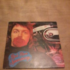 Discos de vinil: PAUL MCCARTNEY LP RED ROSE SPEEDWAY UK.1973. Lote 237545640