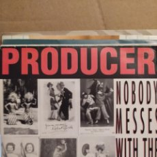 Discos de vinilo: PRODUCER: FEATURING WICKED NELSON – NOBODY MESSES WITH THE GODFATHER EP 1988. Lote 237545715