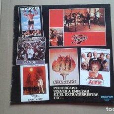 Discos de vinilo: TEMAS DE BANDAS SONORAS ( OFICIAL CABALLERO CARROS DE FUEGO ETC ) LP 1983 EDICION ESPAÑOLA. Lote 237545915