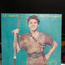Disques de vinyle: DISCO VINILO HOMBRES G LA CAGASTE.... BURT LANCASTER. Lote 237546295