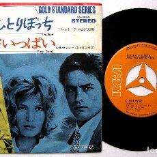 Discos de vinilo: COLLÉTTO TEMPIA / SILVERY STRINGS - L'ECLISSE / PLEIN SOLEIL - SINGLE RCA 1972 JAPAN BPY. Lote 237555160