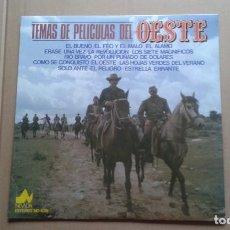 Discos de vinilo: BANDA SONORA - TEMAS DE PELICULAS DEL OESTE LP 1977 EDICION ESPAÑOLA. Lote 237557600