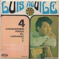 Discos de vinilo: LUIS AGUILE - 4 CANCIONES PARA EL VERANO / LA BANDA, LA CHATUNGA.../ EP SONOPLAY RF-4773. Lote 237565685
