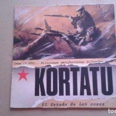 Discos de vinil: KORTATU - EL ESTADO DE LAS COSAS LP 1986. Lote 237575935