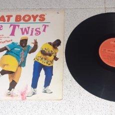 Discos de vinilo: FAT BOYS - THE TWIST - MAXI - EUROPA - TIN PAN APPLE - PLS 542 - L -. Lote 237578000