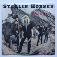 Discos de vinilo: STEALIN HORSES – TURNAROUND / BALLAD OF THE PRALLTOWN CAFE USA,1988. Lote 237582430