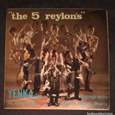 Discos de vinilo: VINILO THE 5 REYLON'S - YENKA TWIST (2° DISCO DEL GRUPO). Lote 237582650
