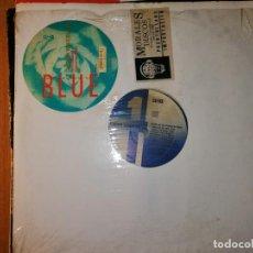 Discos de vinilo: LOTE 2 DISCOS DANCE. CARON WHEELER BLUE Y SARAGOSSA BAND-DAS SUPER ZA-ZA-ZABADAK,1986. Lote 237584420