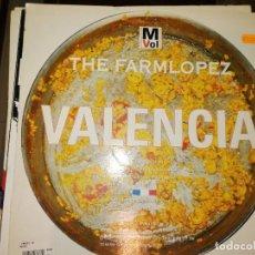 Discos de vinilo: LOTE 2 DISCOS MAKINA. DJ SYLVAN – HYPNOTIC,1996 Y THE FARMLOPEZ – VALENCIA,1994. Lote 237586360