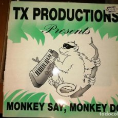 Discos de vinilo: LOTE 2 DISCOS HOUSE. TX PRODUCTIONS -MONKEY SAY, MONKEY DO,1993 Y MISTERY- PTERIÓN,1993. Lote 237588005