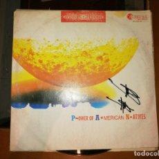 Discos de vinilo: LOTE 2 DISCOS TRANCE.IMPERIO DESTROY-BARRACA DESTROY,1993 Y DANCE 2 TRANCE–POWER OF AMERICAN NATIVES. Lote 237588230