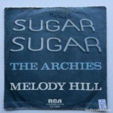 Discos de vinilo: THE ARCHIES – SUGAR, SUGAR / MELODY HILL GERMANY,1969. Lote 237588660