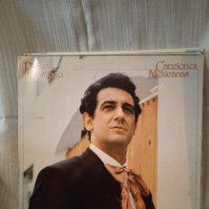 Discos de vinilo: LP VINILO PLÁCIDO DOMINGO CANCIONES MEXICANAS 1982. Lote 237589135