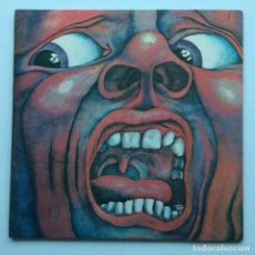 Discos de vinilo: KING CRIMSON ‎– IN THE COURT OF THE CRIMSON KING (AN OBSERVATION BY KING CRIMSON) JAPAN,1971. Lote 237591405