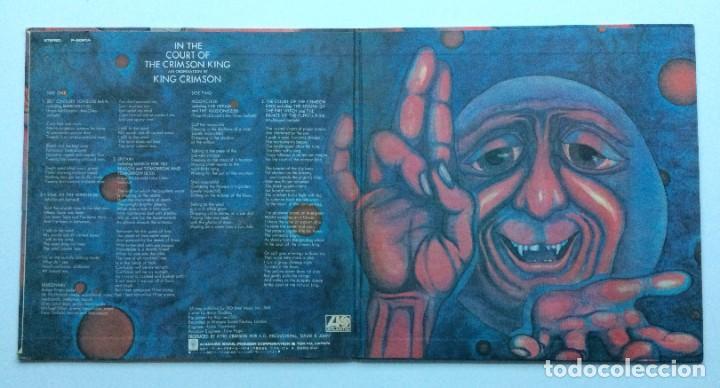 Discos de vinilo: King Crimson – In The Court Of The Crimson King (An Observation By King Crimson) Japan,1971 - Foto 3 - 237591405