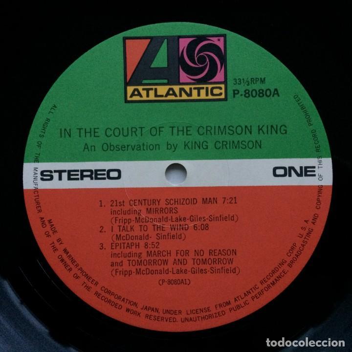 Discos de vinilo: King Crimson – In The Court Of The Crimson King (An Observation By King Crimson) Japan,1971 - Foto 7 - 237591405