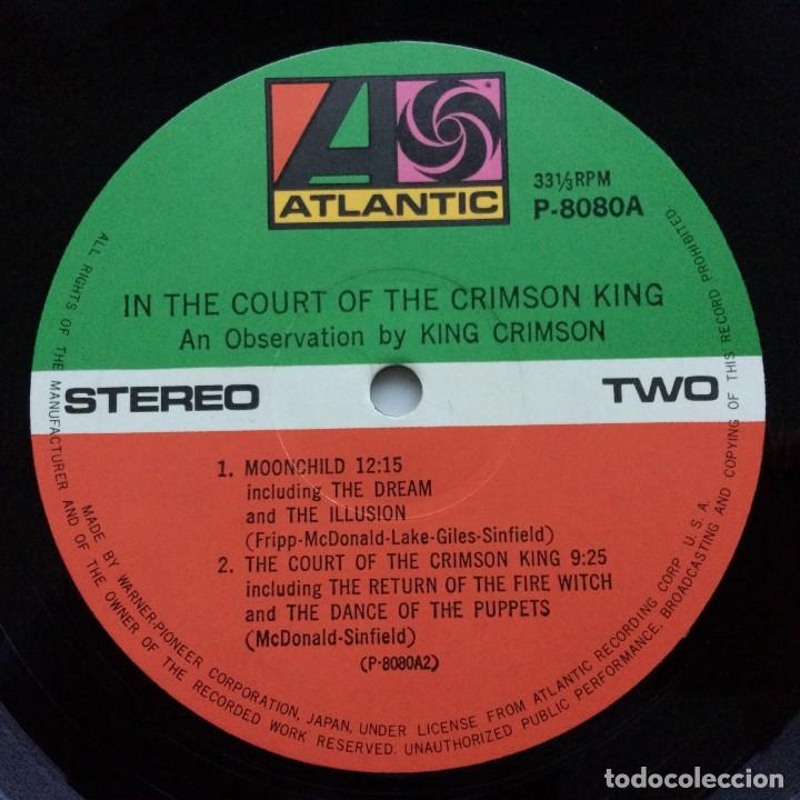 Discos de vinilo: King Crimson – In The Court Of The Crimson King (An Observation By King Crimson) Japan,1971 - Foto 8 - 237591405