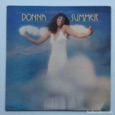 Discos de vinilo: DONNA SUMMER – A LOVE TRILOGY SCANDINAVIA,1976 OASIS. Lote 237592730