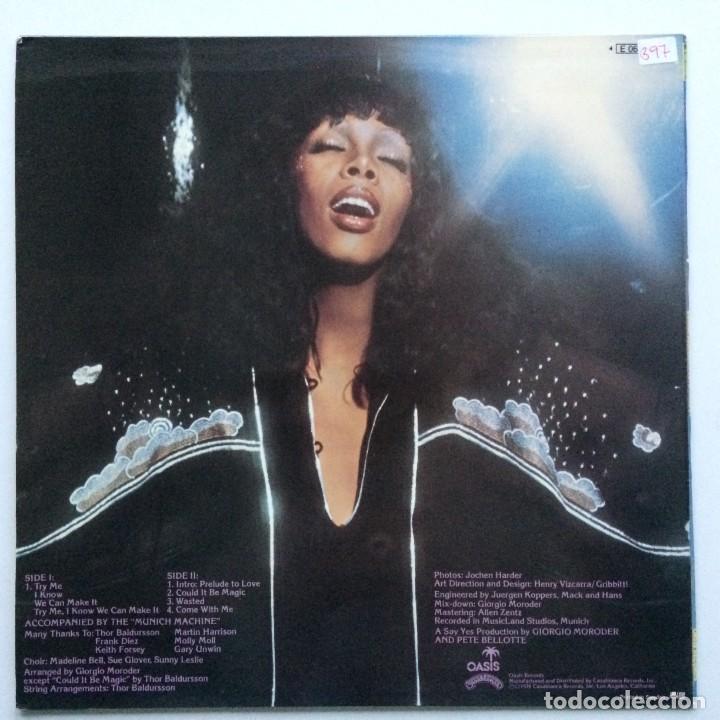 Discos de vinilo: Donna Summer – A Love Trilogy Scandinavia,1976 Oasis - Foto 2 - 237592730