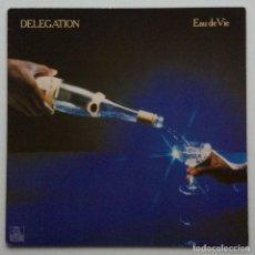 Discos de vinilo: DELEGATION – EAU DE VIE GERMANY,1980 ARIOLA. Lote 237596240