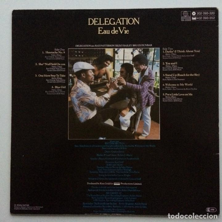 Discos de vinilo: Delegation – Eau De Vie Germany,1980 Ariola - Foto 2 - 237596240
