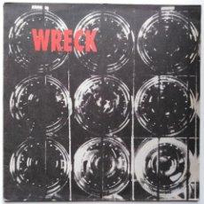 Discos de vinilo: WRECK-WRECK (12'', EP. PLAY IT AGAIN SAM 1990) PRODUCTOR-STEVE ALBINI. DIE KREUZEN, WACO BROTHERS. Lote 237624540
