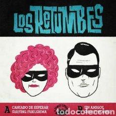 Discos de vinilo: LOS RETUMBES . EP VINILO. PRECINTADO - GARAGE SURF. Lote 237628985