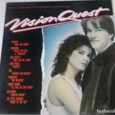 Discos de vinilo: VISION QUEST LP BANDA SONORA..MADONNA..DIO.. VARIOS 1985, ED ESPAÑOLA. Lote 237645425