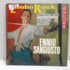 Disques de vinyle: 46098 - ENNIO SANGIUSTO - LIMBO ROCK - AÑO 1963. Lote 237660550
